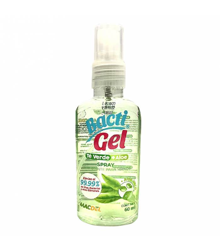 BACTIGEL SPRAY TE VERDE + ALOE VERA 60ML